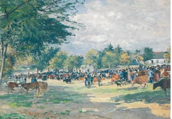 Peinture de Fernand Piet