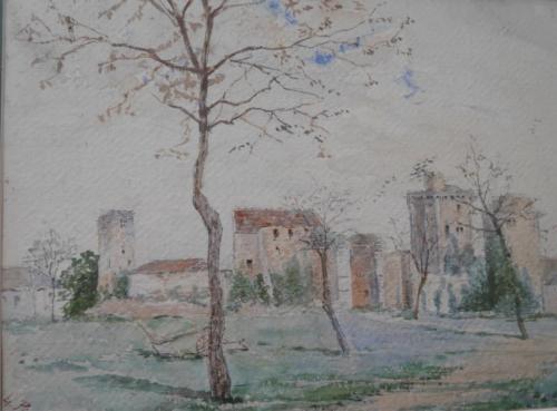 Village de Blandy les Tours